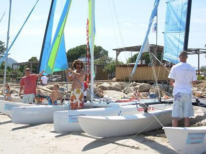 activités vacances plage de Pinarello