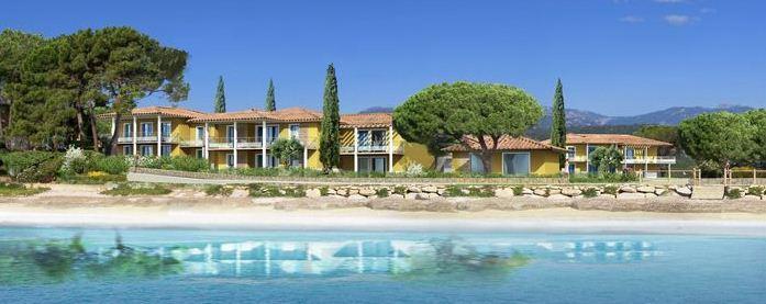 résidence de vacances, plage de Pinarello à Porto Vecchio